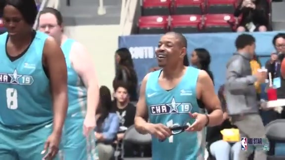 2019 NBA All-Star Weekend | Muggsy Bogues Participates in NBA Cares Special Olympics Unified Game – 2/14/19
