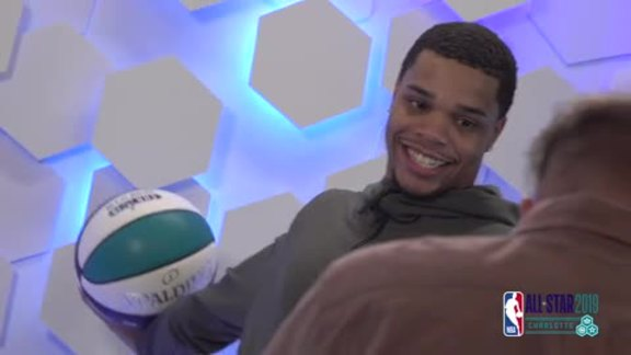 2019 All-Star Weekend | Miles Bridges Media Circuit - 2/16/19