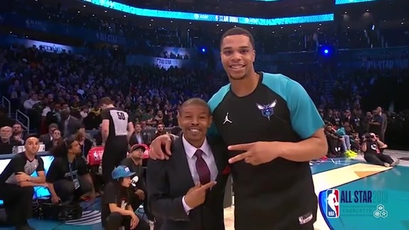 2019 All-Star Weekend | Miles Bridges in Slam Dunk Contest - 2/16/19