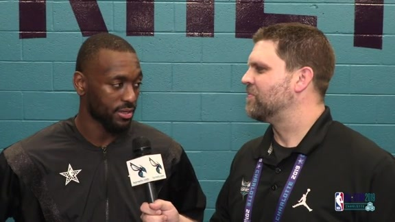 2019 All-Star Weekend | Kemba Walker Postgame One-on-One Interview - 2/17/19
