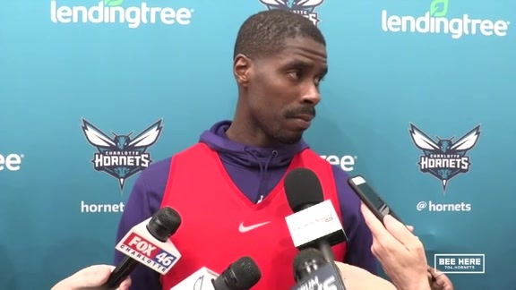 Hornets Practice | Marvin Williams - 2/20/19