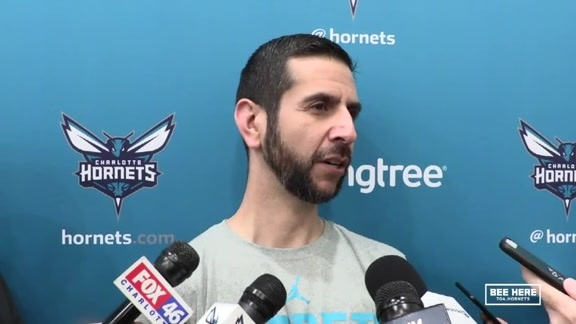 Hornets Practice | James Borrego  - 2/20/19