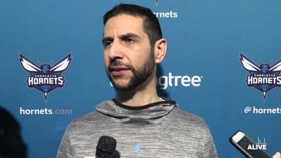Hornets Practice | James Borrego - 3/7/19