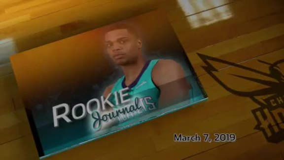 2018-19 Rookie Journal | Miles Bridges - 3/7/19
