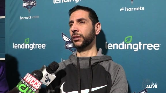 Hornets Practice | James Borrego - 3/20/19