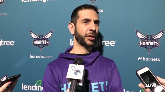 Hornets Pregame | James Borrego - 3/26/19