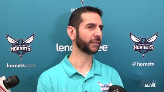 Hornets Practice | James Borrego - 3/28/19
