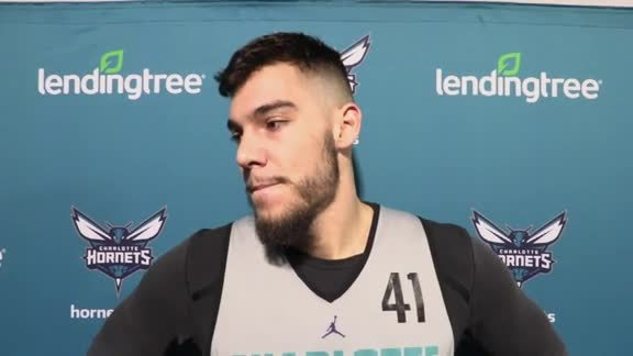 Hornets Shootaround | Willy Hernangomez - 4/5/19