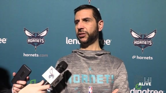 Hornets Pregame | James Borrego - 4/5/18
