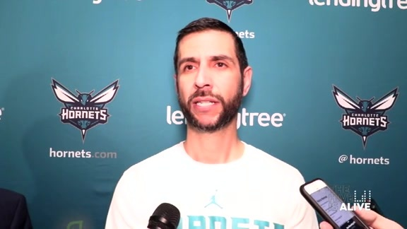 Hornets Pregame | James Borrego - 4/10/19