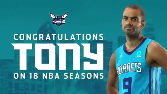 Thank You Tony Parker - 6/10/19