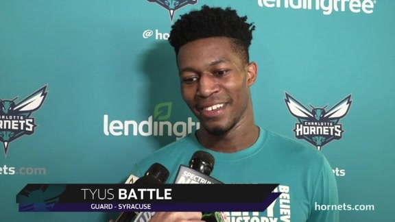 Hornets Draft Workouts | Tyus Battle - 6/18/19