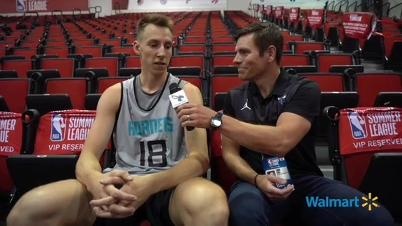 Hornets Summer League Shootaround | Arnoldas Kulboka - 7/5/19