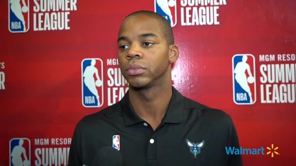 Hornets Summer League Postgame   Ronald Nored - 7/7/19