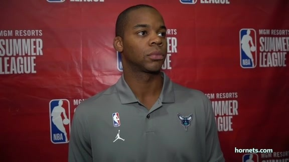 Hornets Summer League Postgame   Ronald Nored - 7/8/19