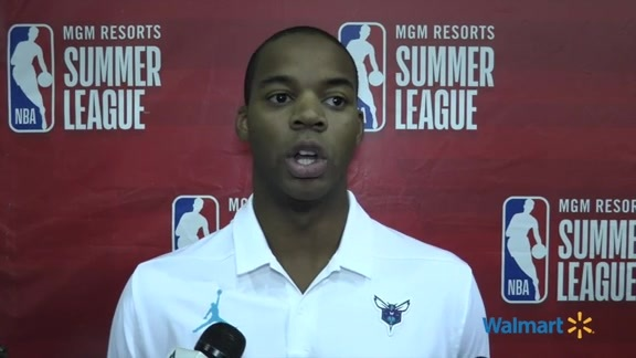 Hornets Summer League Postgame   Ronald Nored - 7/10/19