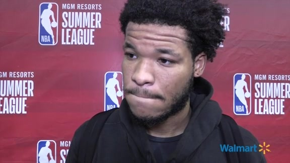 Hornets Summer League Postgame | Kennedy Meeks - 7/13/19