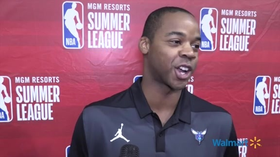 Hornets Summer League Postgame    Ronald Nored - 7/13/19