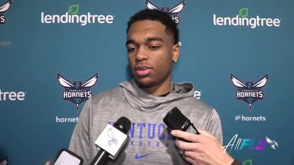 Hornets Shootaround | PJ. Washington - 10/9/19