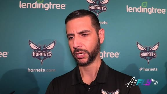 Hornets Pregame | James Borrego - 10/11/19