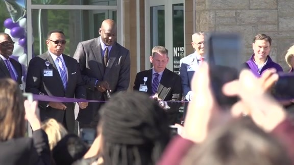 Michael Jordan Family and Novant Health Unveil Michael Jordan Family Medical Clinic