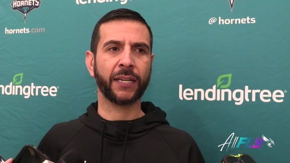 Hornets Pregame | James Borrego - 10/19/19