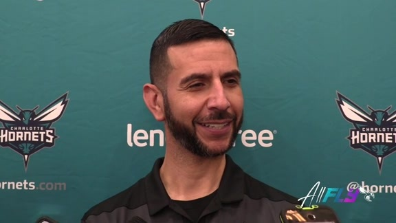 Hornets Practice | James Borrego - 10/22/19