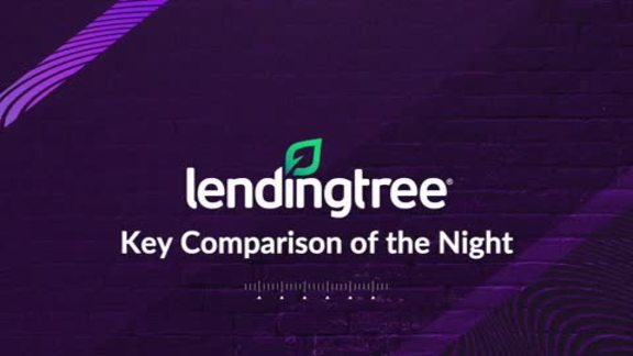 LendingTree's Key Comparison of the Night - 10/23/19