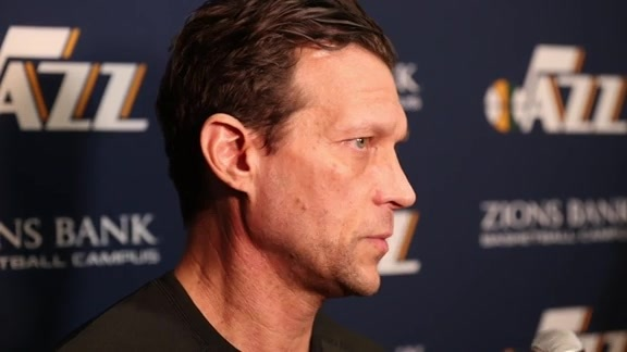 Head Coach Quin Snyder Shootaround Interview - 1.15.18