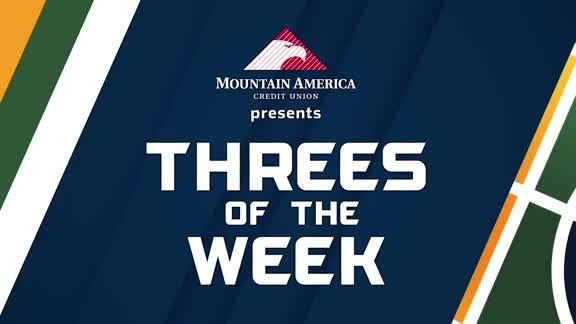 Threes of the Week - 1.15.18