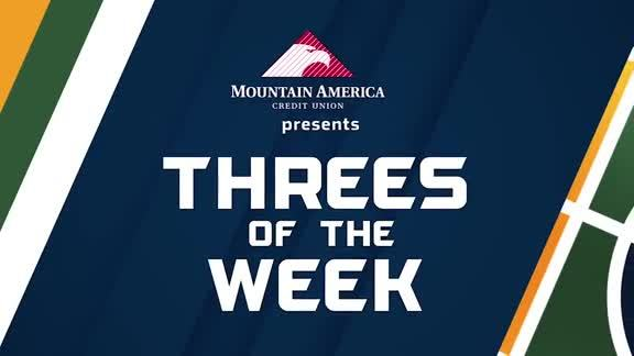 Threes of the Week - 1.8.18