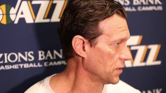 Head Coach Quin Snyder Shootaround Interview - 1.19.18