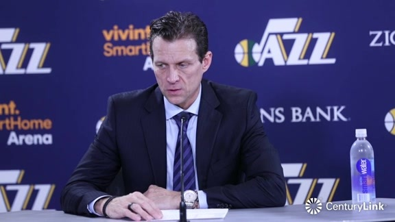 Head Coach Quin Snyder Postgame Interview - 1.19.18