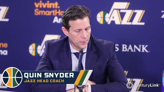 Coach Quin Snyder Postgame - 1.20.18