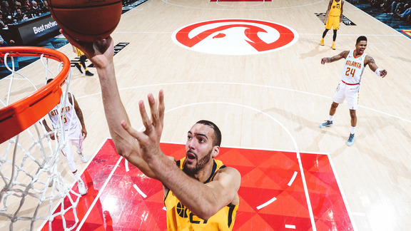 Highlights: Jazz 90, Hawks 104