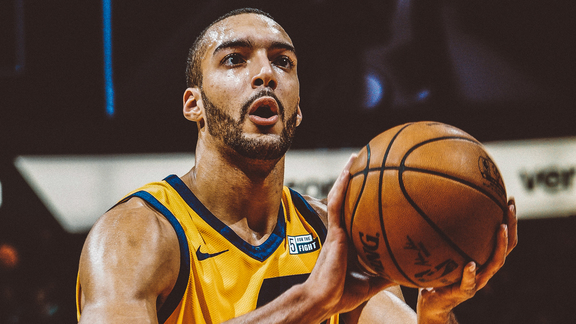 Rudy Gobert Highlights at NOP - 2.5.18