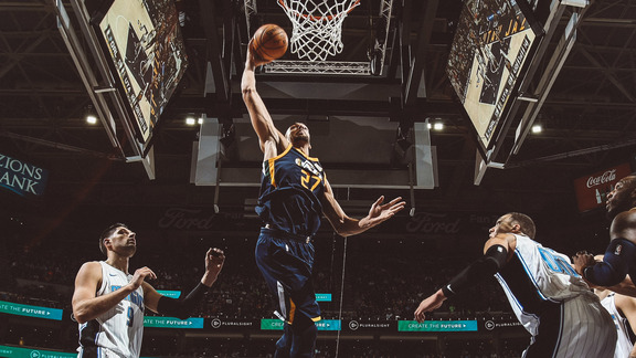 Rudy Gobert Highlights vs. ORL - 3.5.18