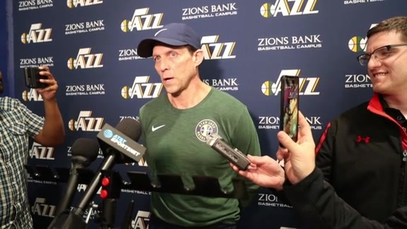 Head Coach Quin Snyder Practice Interview — 3.19.18