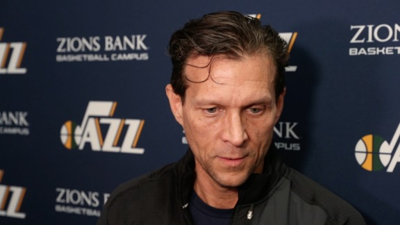 Head Coach Quin Snyder Shootaround - 3.20.18