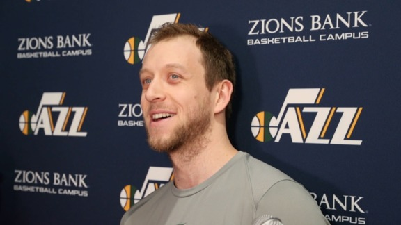 Joe Ingles Shootaround - 3.20.18
