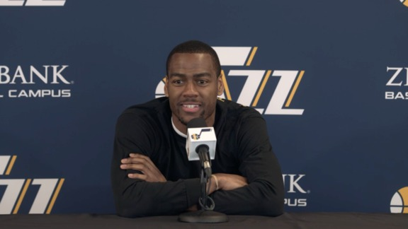 Alec Burks - End of Season Interview