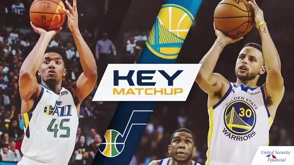 Key Matchup: Donovan Mitchell vs. Stephen Curry