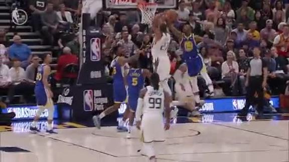 Highlights: Jazz 123 | Warriors 124