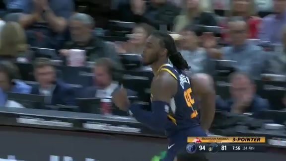 Highlights: Jae Crowder—18 points, 4 3-pointers made