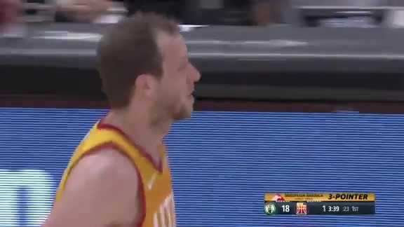 Highlights: Joe Ingles—27 points, 7 assists, 5 made 3-pointers