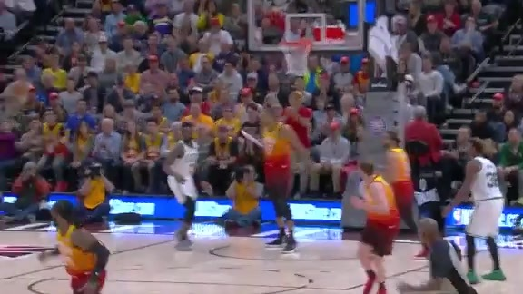 Highlights: Donovan Mitchell—21 points, 5 assists