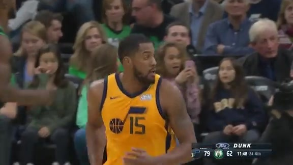 Highlights Jazz 98  Celtics 86