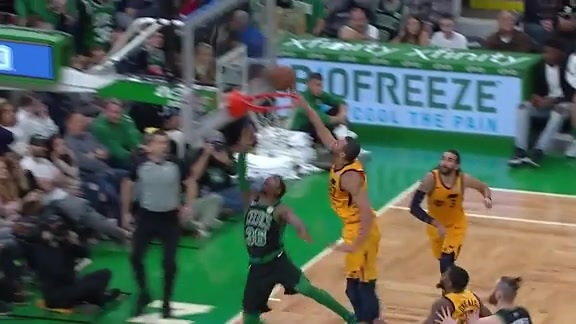 Highlights: Rudy Gobert—12 points, 9 rebounds, 3 assists
