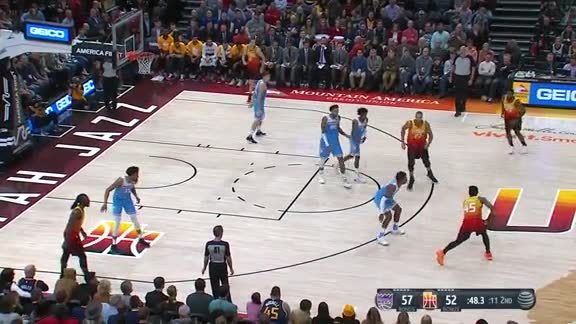 Highlights: Donovan Mitchell—35 points, 4 3-pointers made