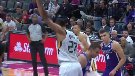 Highlights: Rudy Gobert—18 points, 15 rebounds